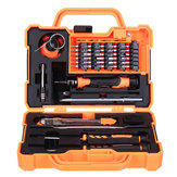 JAKEMY JM-8139 45 في 1 المهنية الإلكترونية الدقة مفك مجموعة أدوات إصلاح المنزلية