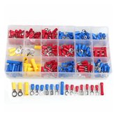 300PCS Insulated Ring Wire Connectors Assortment Electrical Crimp Terminals Kits