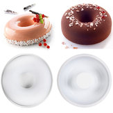 Silicone Non-stick Donut Cake Mould Muffin Chocolate Mousse Pan Baking Mold