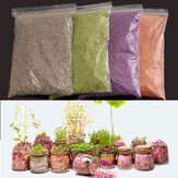 Original 500ml Plant Flowers Micro-landscape Nutrient Soil Colorful Potting Paper Soils Garden Decorations