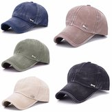 Unisex Washed Cotton Blend Golf Hip-hop Cap Sports Adjustable Outdoor Snapback Hat