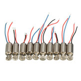 10pcs 4x8mm DC1.5-3V Micro Coreless Мотор Вибрация Мотор