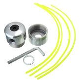 Cortador de la línea de corte de la hierba de aluminio de la cabeza Strimmer para cortacésped cortacésped