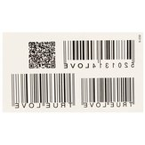 5Pcs Personalized Waterproof Barcode Totem Tattoos Removable Body Art Stickers