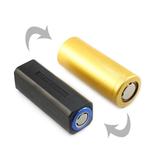 On The Road 18650 a 26650 Li-ion Batería tubo de cuerpo de conversión Batería soporte