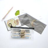WAM PC-009 Transparent Storage Organizer Bag Stationery Bag Pencil Case Stationery Bag
