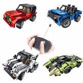 Технолоджи Групп Строительные Блоки Сборка Игрушки Головоломки Дети Дистанционное Управление Авто