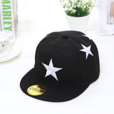 Boy Girl Star Printed Adjustable Baseball Cap Kids Snapback Children Child Hat
