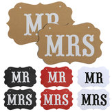 DIY MR MRS Ribbon Wedding Chair Garland Birthday Party Decoration Photo Props Accessory