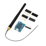 WeMos® D1 Mini Pro-16 Módulo + ESP8266 Series WiFi Wireless Antena
