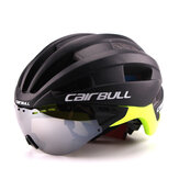 CAIRBULL-04 58-62cm Cycling Helmets Detachable Ventilation Goggles Road Bike Helmet MTB