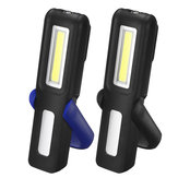 3W LED COB USB Work Light Outdoor Portable Magnetic Flashlight Torch Emergency Lantern With Hook