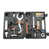 26 in 1 Bike Bicycle Repairing Tool Kit Set Multitools Toolbox Case For Outdoor Cycling Refix