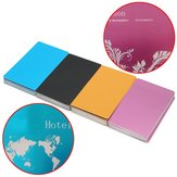 50Pcs 84x56x0.17mm Laser Marking Blank Business Card Name Cards Aluminum Alloy