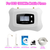 LCD Display Global Frequency DCS 2G 4G LTE 1800MHz Mobile Smart Repeater Amplifier