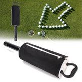 Portable Golf Shag Bag 60 Balls Convenient Hop-pocket Pick Up Bag Ball Storage