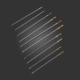 100pcs Golden Tail Needles Size 24 For 11CT Embroidery Fabric Cross Stitch
