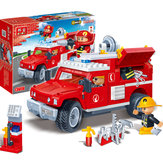 BanBao 8316 Fire Fighting Truc 242PCS Blocks Toys Building Educational Bricks Compatible With Le go