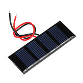 Original 0.2W 2V 78.8*28.3mm Mini Polycrystalline Silicon Epoxy Board  Solar Panel for DIY Part