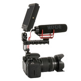 Ulanzi Video Stabilizer Top Handle Cold Shoe Extender Camera Mount com 1/4 3/8 Thread