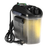 5.5W 150L/H Aquarium Fish Tank External Hang On Canister Filter Media Supplied