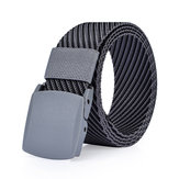 125CM Mens Nylon Resin Buckle Belt Outdoor Sport Military Tactical Durable Pants Strip