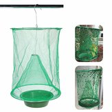 Fly Trap Insect Trap Net Gardening Hanging Folding Reusable Drosophila Insect Catcher Killer Cage Environmentally Friendly