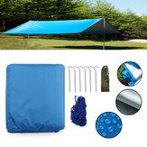 Outdoor Camping Waterproof Tarp Sunshade Awning Canopy Beach Tent Cover Sun Shelter