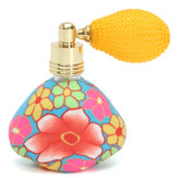Airbag Perfume Spray Bottle Flower Polymer Balloon Fragrance Atomizer Glass Essential Oil Bottles