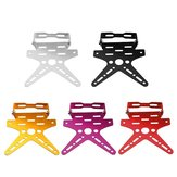 Motorcycle License Plate Holder Aluminum Alloy Mount Bracket Adjusted Number Plate Holder