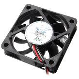 60mm x 60mm x 15mm 12V 4 Pin Internal Computer CPU Cooling Fan Desktop Cooler Fan