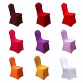 Honana WX-201 Elegant Solid Color Elastic Stretch Chair Seat Cover Computer Dining Room Hotel Party Decor