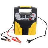 12/24V Universal Motorcycle Car Smart Repair Power Bank Automatic Battery Charger LCD Display