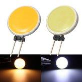 G4 2W 15COB LED أبيض دافئ / أبيض لمصباح كريستال LED أضواء كاشفة ضوء لمبة مصباح تيار منتظم 12V