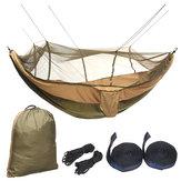 al aire libre Hamaca doble para 2 personas cámping Tienda Colchón colgante con mosquitera