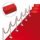 Alfombrarojade80x300 cm Boda Alfombra de piso de pasillo de los corredores Decoraciones de la fiesta de Hollywood