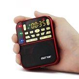 SAST N-500 tragbare Mini-FM-Tasche Stereo-Radio mit TF / USB-Disk-Lautsprecher MP3-Player