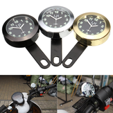 Waterproof Motorcycle Bike Dial Clock Bracket For Harley/Honda/Suzuki/Yamaha