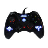 Original Welcom WE-888S 2.4G USB Wired Vibration Gamepad para IOS Android Juego para móvil