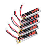 5Pcs URUAV 3.8V 250mAh 40C/80C 1S Lipo Battery PH2.0 for Eachine US65 UK65 QX65 URUAV UR65 Mobula7