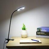 Creatieve 7W LED USB dimbaar Clip op werk leeslamp Oogzorg Desk tafellamp