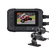 Original Blueskysea Dual 1080P Motorcycle DVR Action Camera Recorder Night Vision DV688 Waterproof