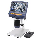 Andonstar AD106 Digital Microscope 4.3 Inch 1080P With HD Sensor USB Microscope For Phone Repair Soldering Tool Jewelry Appraisal Biologic Use Kids Gift