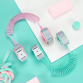 Xiaomi 2M Anti-lost Strap Bracelet Safety Adjustable Baby Kids Children Traction Rope Wristband