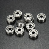 10pcs 693ZZ 3x8x4mm Ball Bearings Miniature Double Shielded Ball Bearing