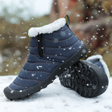 Men Casual Warm Snow Boots