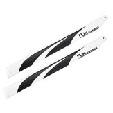 1 Pair RJX 360mm Carbon Fiber Main Blade FBL Version For RC Helicopter