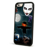 Halloween Protective Case TPU Soft Back Cover For iPhone 6 6S