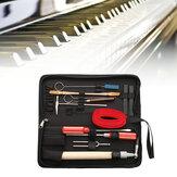 13Pcs Mantenimiento de afinación de piano profesional herramienta Kits Llave Hammer Destornillador con Caso US