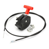 Universal 142cm 56inch Throttle Cable & Choke Lever For Lawnmower Lawn Mower